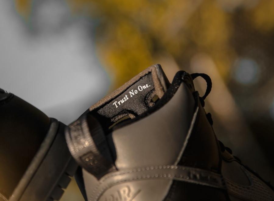 Nike Dunk High Pro SB noire et grise BV1052 001 (2)