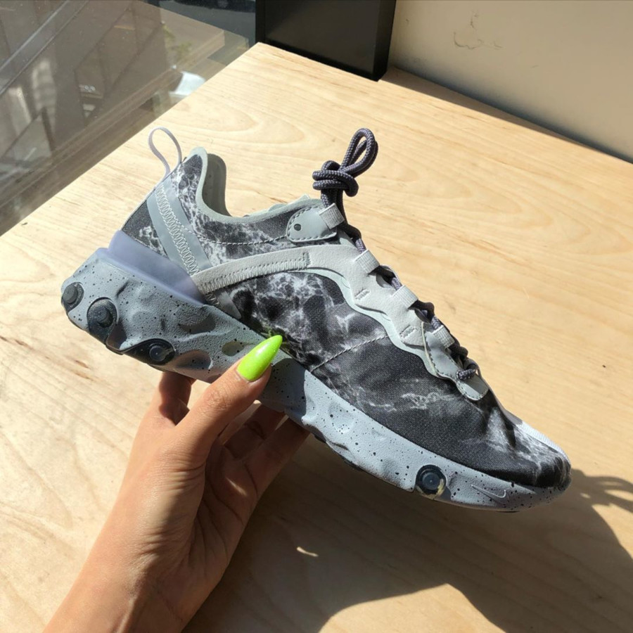 Nike React Element Kenny KL 55 Kendrick Lamar 'Marble'