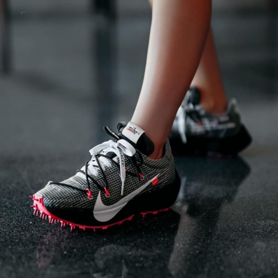 Nike Vapor Street noire grise et rose CD8178-001 (2)