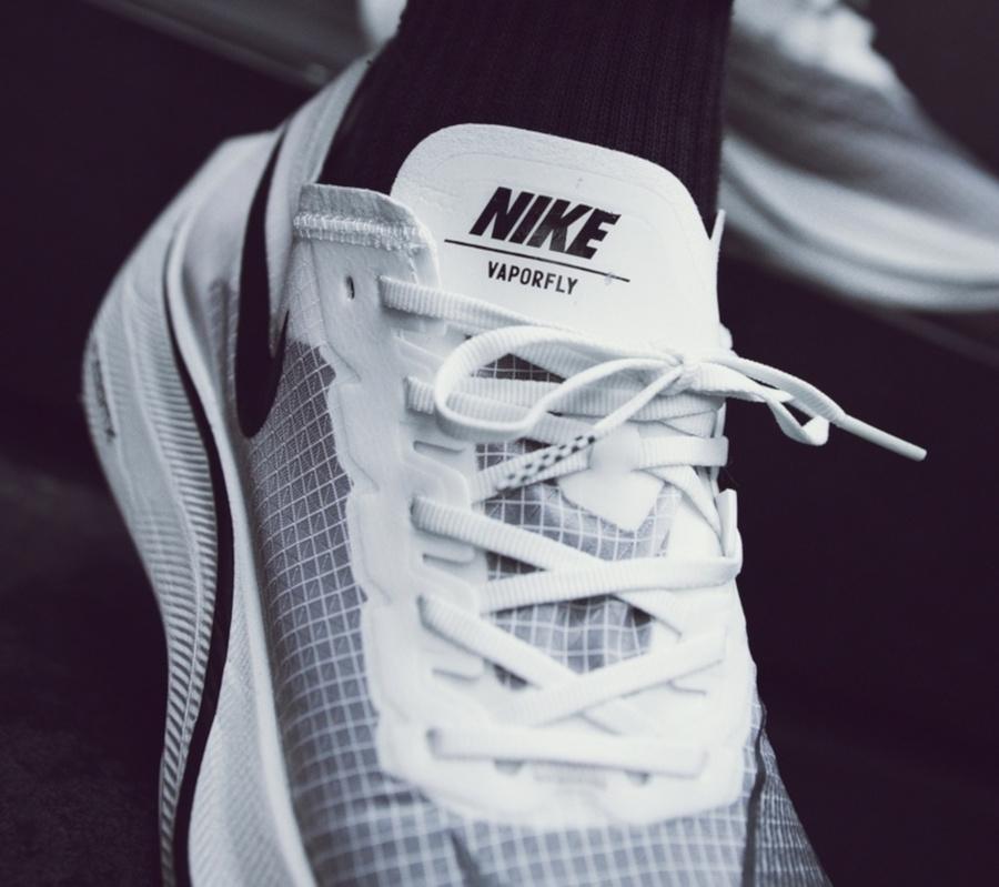 Nike ZoomX Vaporfly NEXT% 'Sail Black' (5-1)