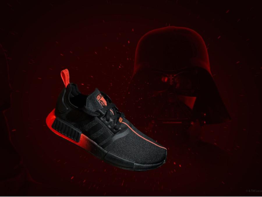 Star Wars x Adidas NMD R1 Darth Vader
