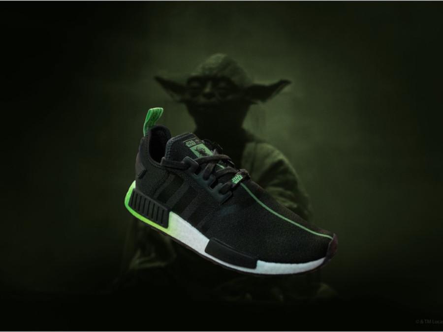 Star Wars x Adidas NMD R1 Yooda