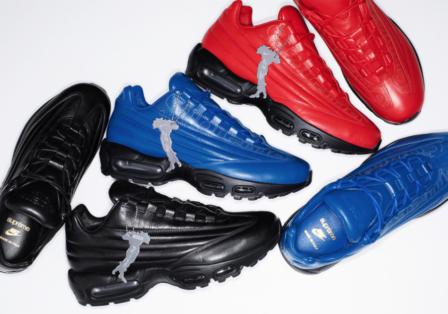 Que valent les Nike Air Max 95 LX Supreme Italian Leather ?