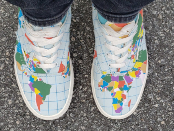 Vans Era Save Our Planet World Map VN0A4BV4T2V (1)