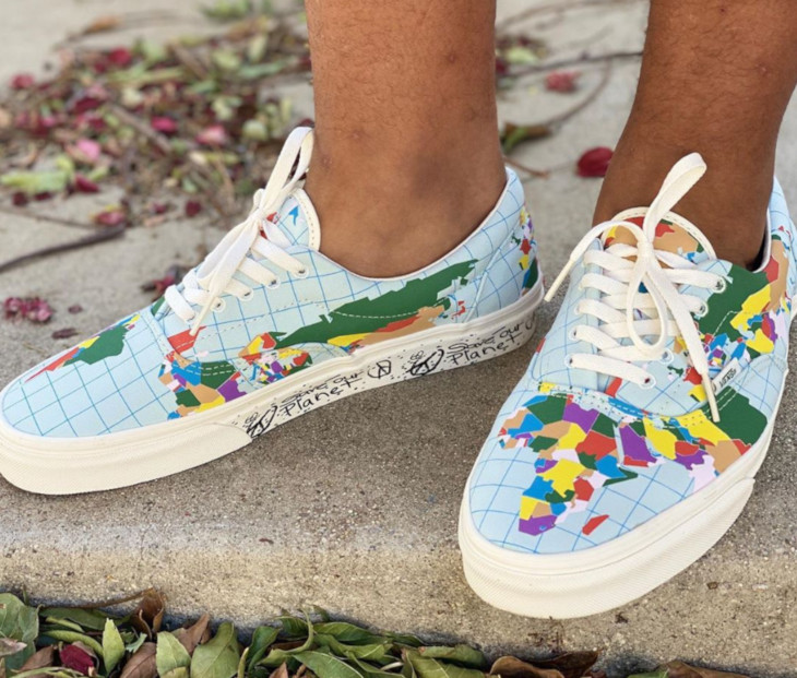 Vans Era Save Our Planet World Map VN0A4BV4T2V (2)