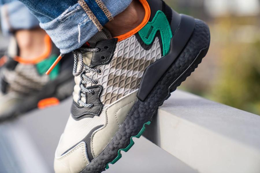adidas-nite-jogger-marron-beige-noire-vert-orange-EE5569 (4)