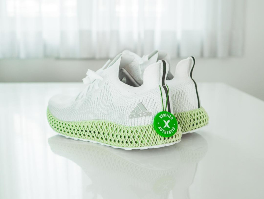 Adidas Alphaedge 4D White - @swoosted