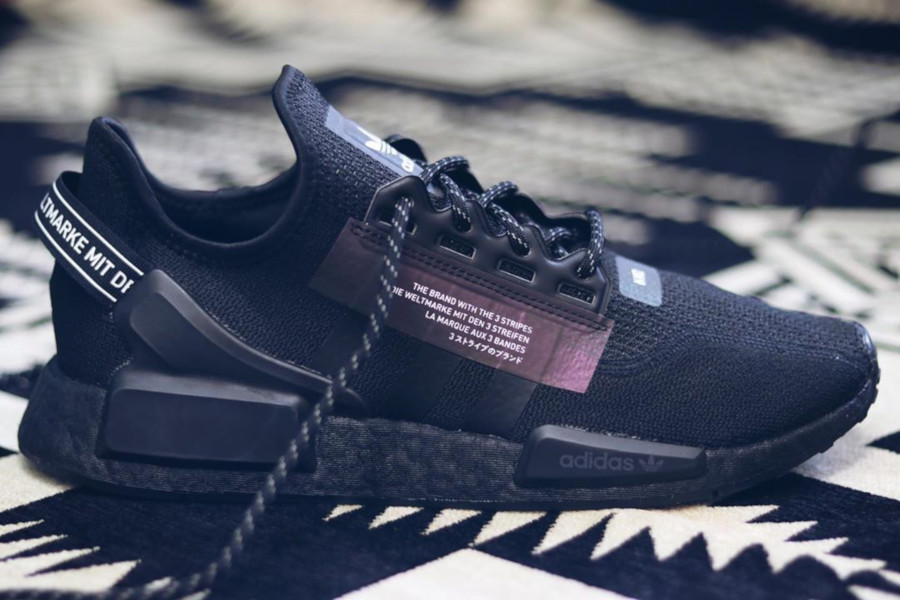Adidas NMD R1 V2 'Core Black Iridescent' (Goodbye Gravity Pack) (4)