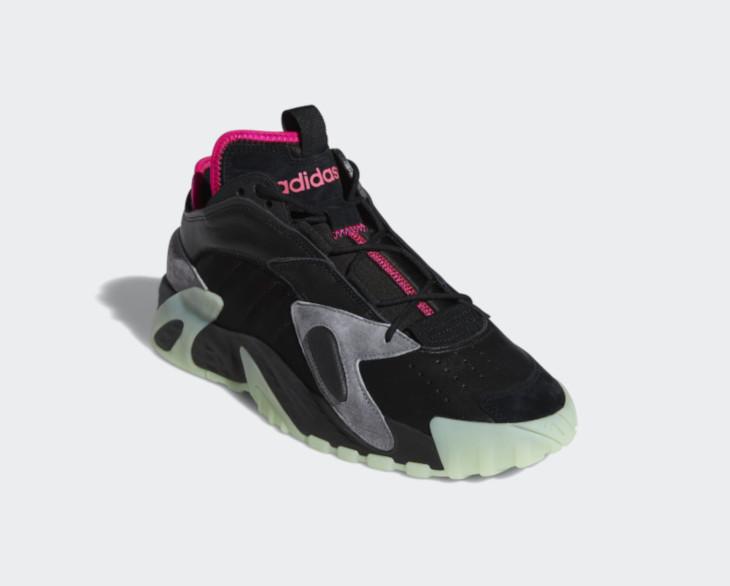 Adidas Streetball 'Yeezy' Core Black Glow Green (1)