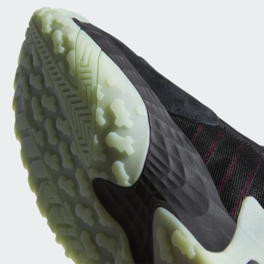 Adidas Streetball 'Yeezy' Core Black Glow Green (3)