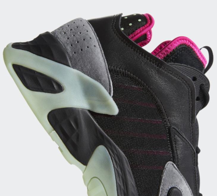 Adidas Streetball 'Yeezy' Core Black Glow Green (4)