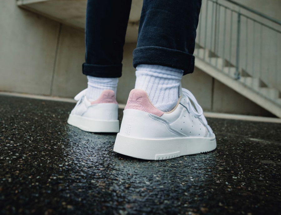 Adidas Supercourt W 'Cloud White True Pink' (1)