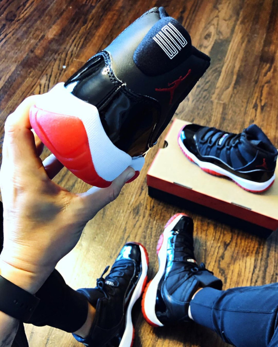 Air Jordan 11 Retro Bred 2019 (1)