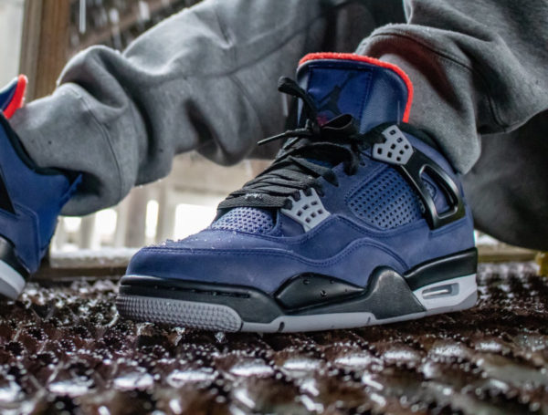 air jordan 4 retro bleu