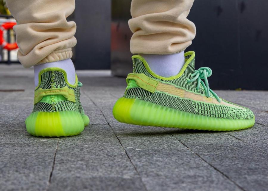Kanye West x Adidas Yeezy 350 V2 'Yeezreel' (Non Reflective) (1)