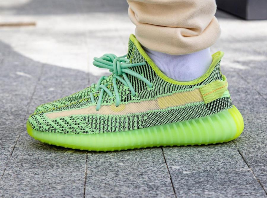 Kanye West x Adidas Yeezy 350 V2 'Yeezreel' (Non Reflective) (2)