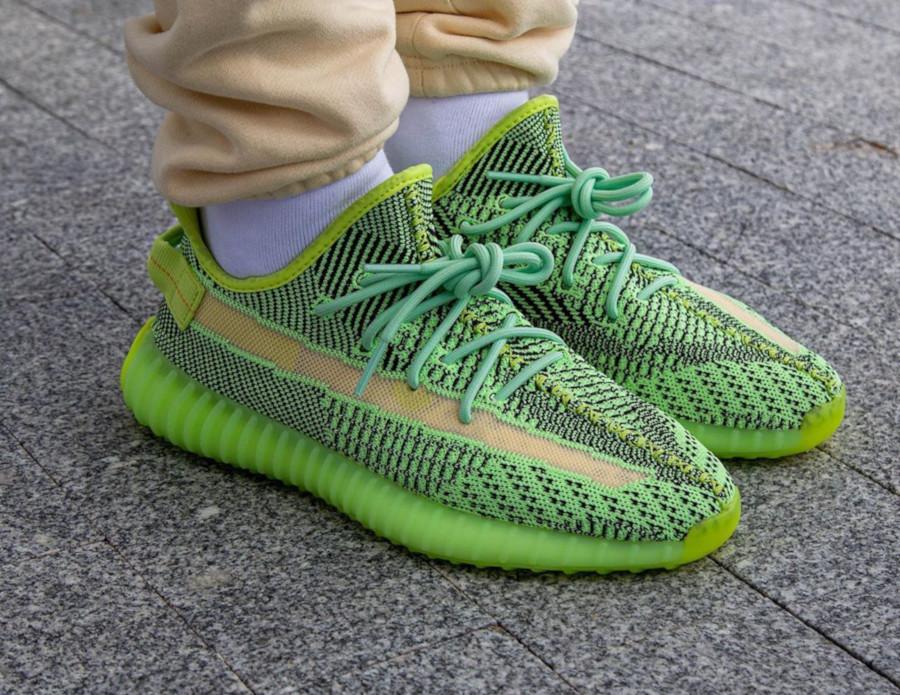 Kanye West x Adidas Yeezy 350 V2 'Yeezreel' (Non Reflective) (3)