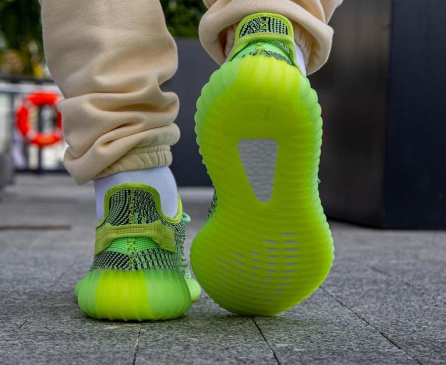 Kanye West x Adidas Yeezy 350 V2 'Yeezreel' (Non Reflective) (4)
