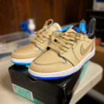 Lance Mountain x Nike SB Air Jordan 1 Low QS 'Desert Ore Royal Blue'