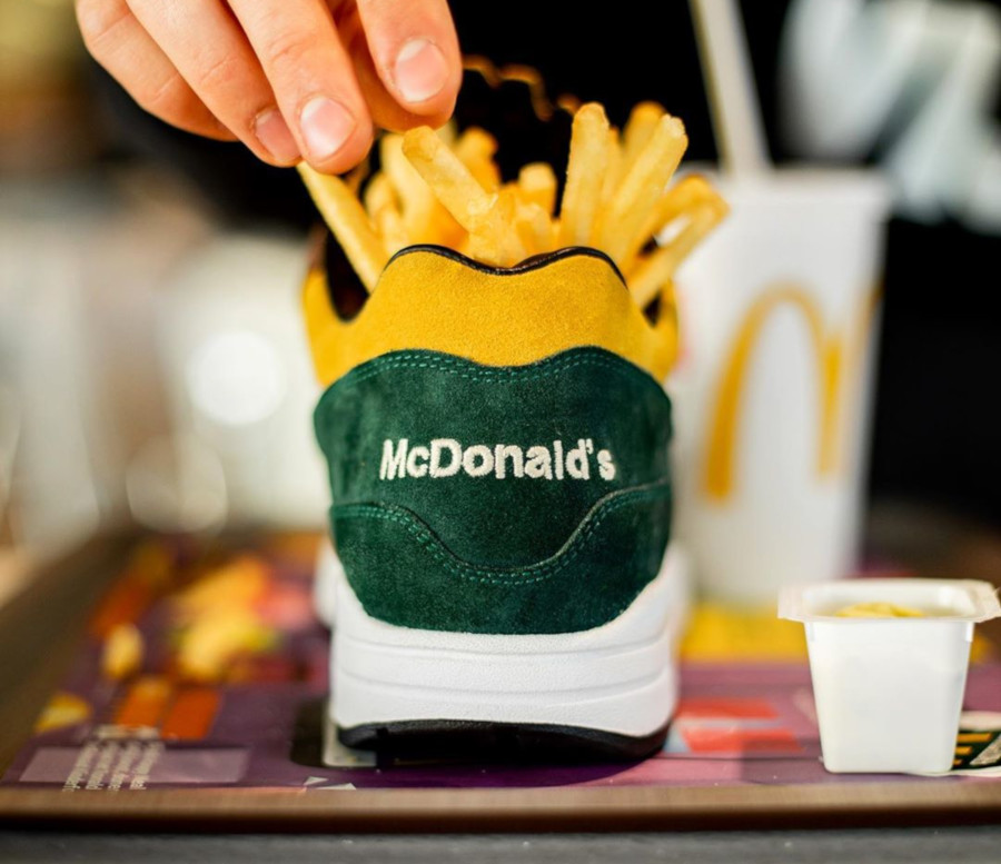 Mc Donald's x Nike Air Max 1 Handcrafted (1-1) (1)