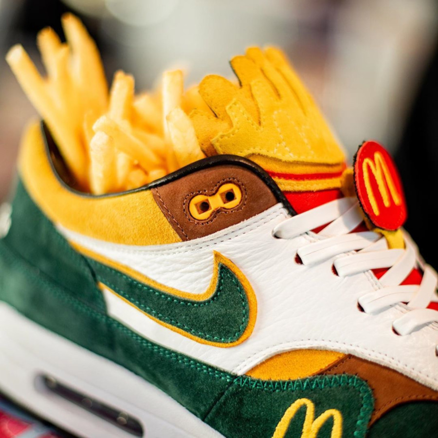 Mc Donald's x Nike Air Max 1 Handcrafted (1-1) (3)