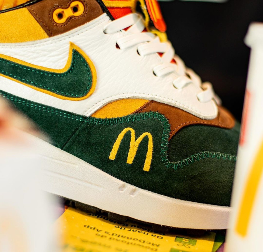 Mc Donald's x Nike Air Max 1 Handcrafted (1-1) (4)