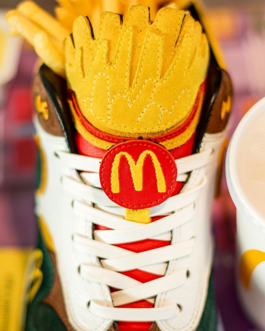 Mc Donald's x Nike Air Max 1 Handcrafted (1-1) (6)