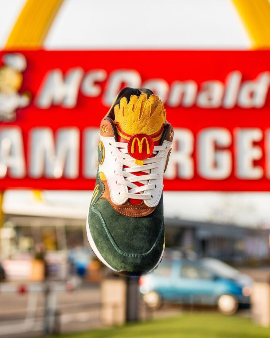 Mc Donald's x Nike Air Max 1 Handcrafted (1-1) (7)