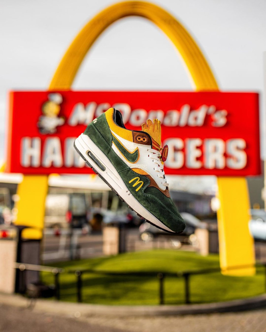 Mc Donald's x Nike Air Max 1 Handcrafted (1-1) (8)