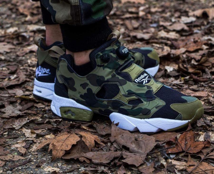 Mita Sneakers x Bape x Reebok Instapump Fury Camo - @vinsmartins