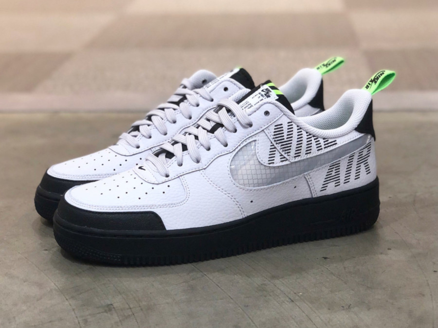 Nike Air Force 1 '07 LV8 Under Construction 'Vast Grey Electric Green' (1)