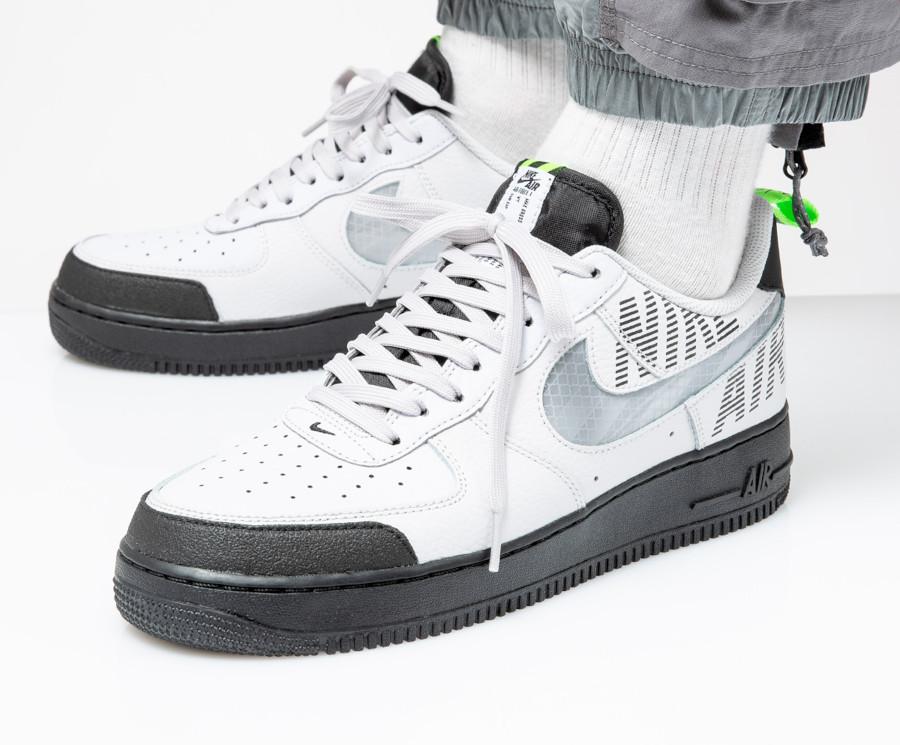 Que vaut la Nike Air Force 1 '07 Under Construction Black