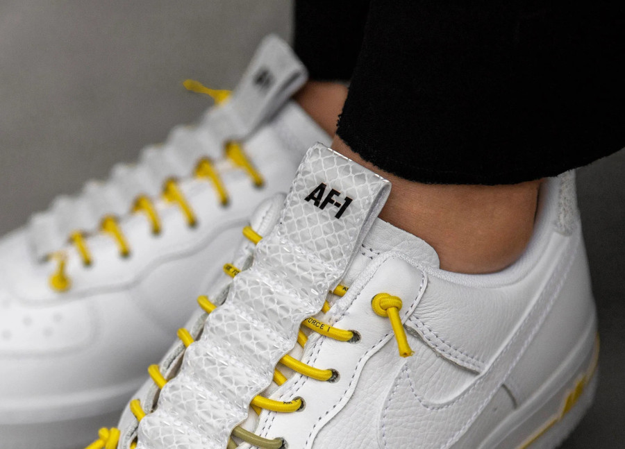 Nike Air Force 1 '07 Lux AF1 Chrome Yellow 898889