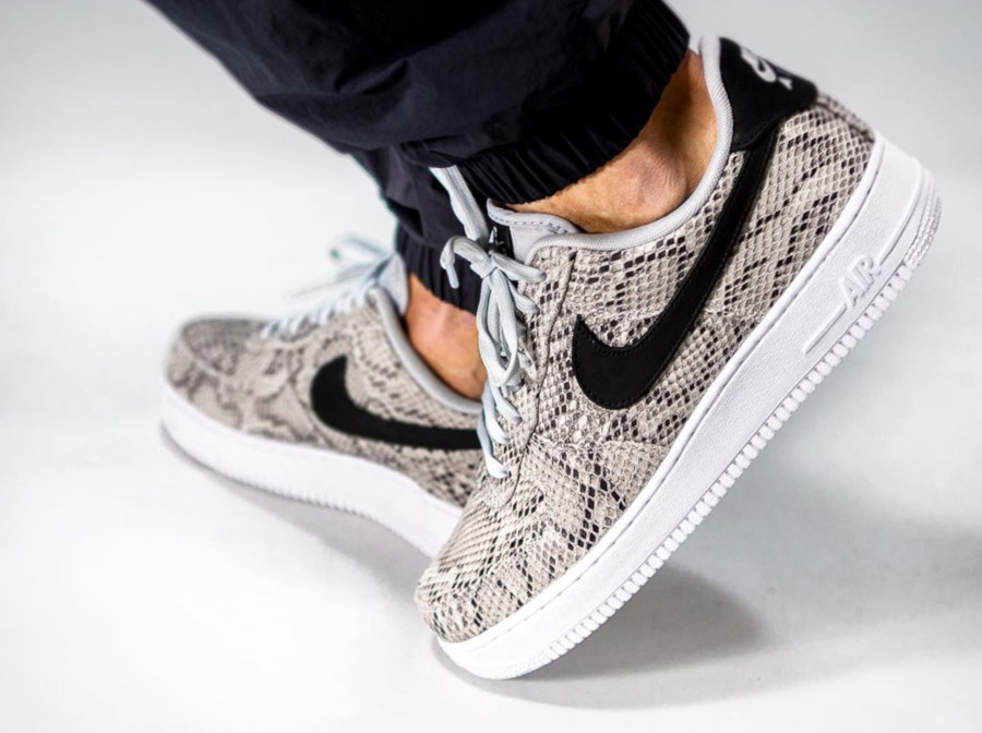 Review : que vaut la Nike Air Force 1 '07 PRM Snakeskin