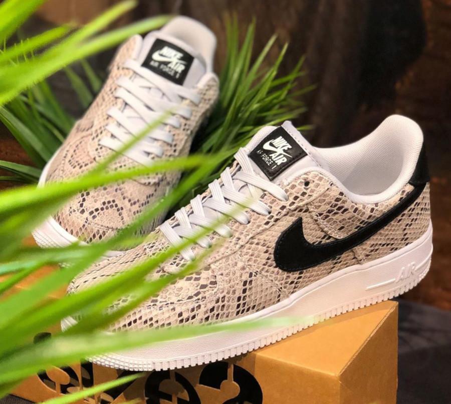 Review : que vaut la Nike Air Force 1 '07 PRM Snakeskin