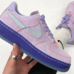 Nike Wmns Air Force 1 '07 LXX Vandalized 'Purple Agate Rush Violet'