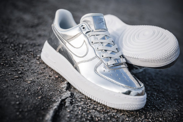 Nike Air Force 1 SP Chrome Liquid Metal CQ6566-700
