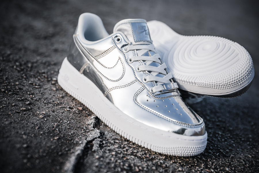 air force 1 metallic pour femme bronze
