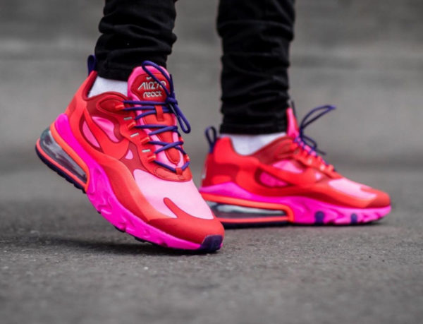 Nike Air Max 270 React EDM Mystic Red AT6174-600