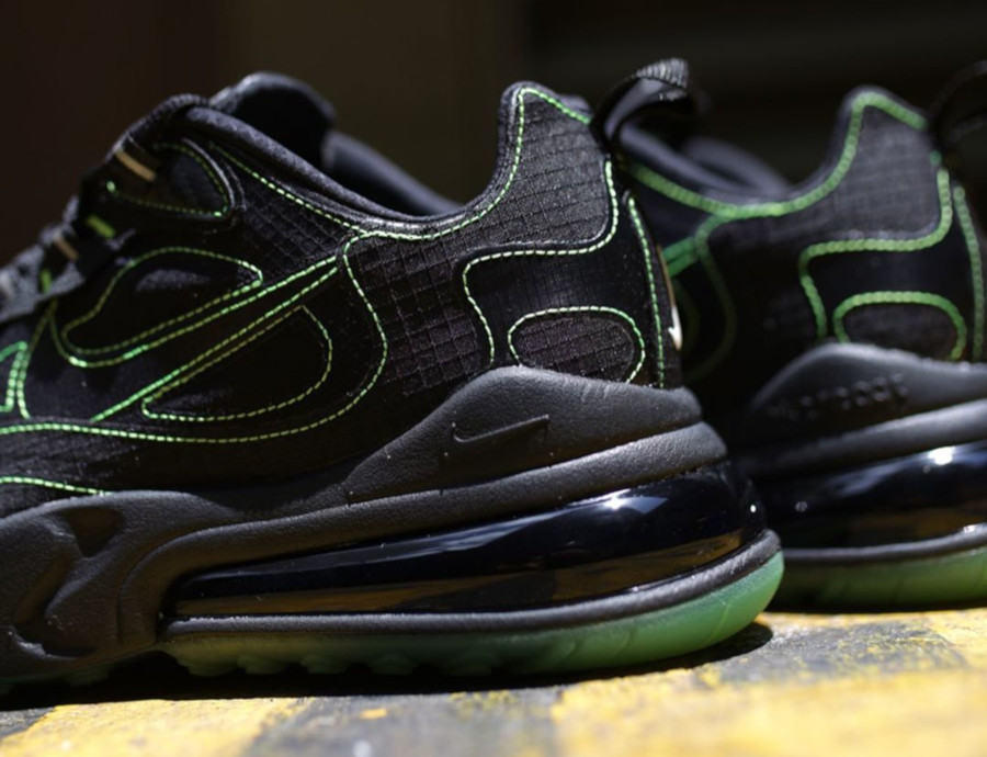 Nike Air Max 270 React SP 'Black Electric Green' (3)
