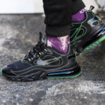 Nike Air Max 270 React SP 'Black Electric Green'