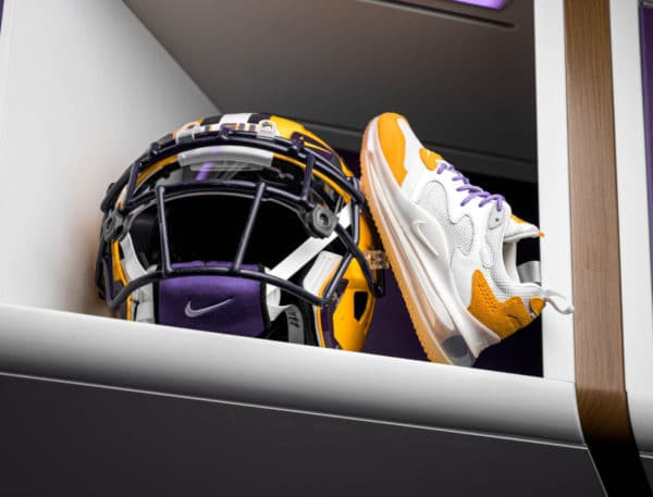 Nike Air Max 720 OBJ LSU Tiger Canyon Gold CK2531