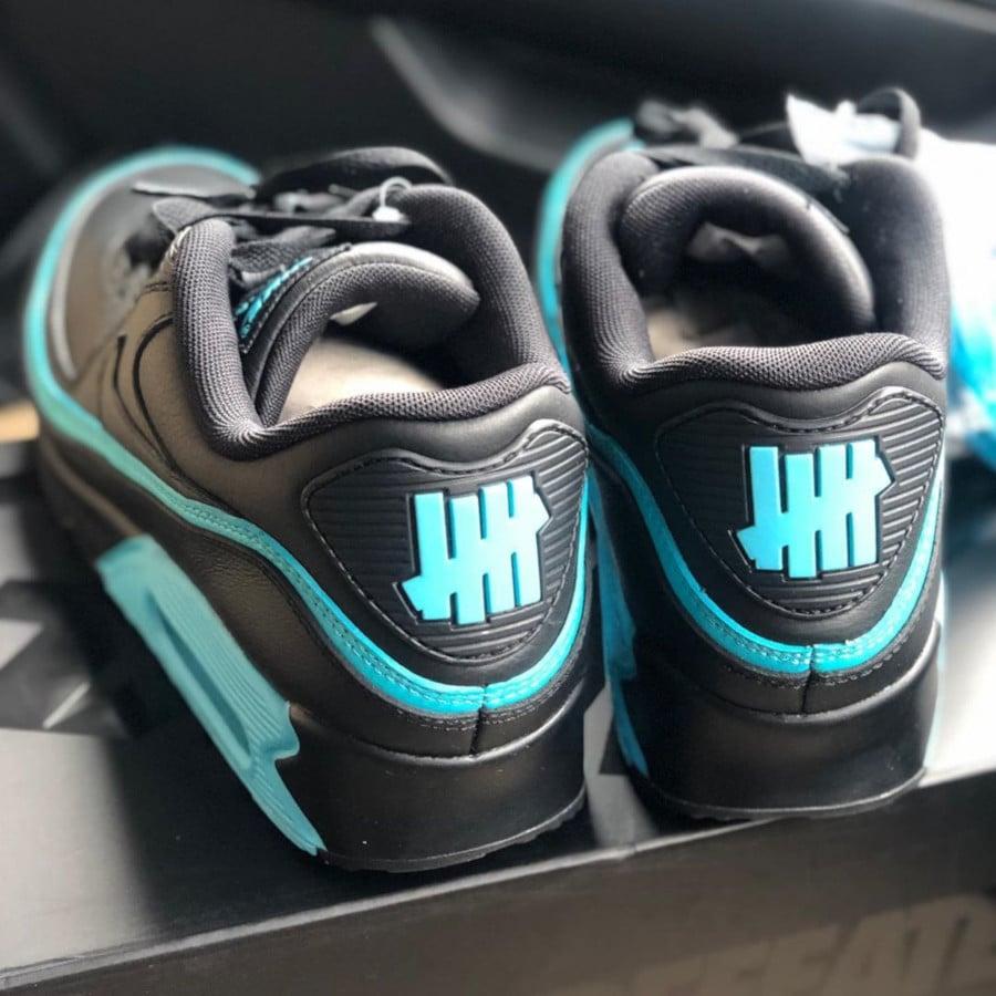 Nike Air Max 90 Black Blue Fury CJ7197-002 (1)