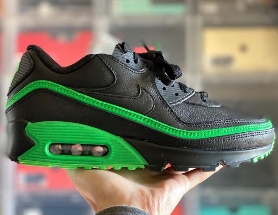 Nike Air Max 90 Black Green Spark CJ7197-004