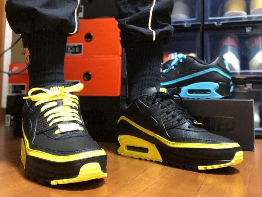 Nike Air Max 90 Black Optic Yellow CJ7197-001 (3)
