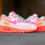 Nike Wmns Air Max 90 Premium 'CDG' Pink Shade