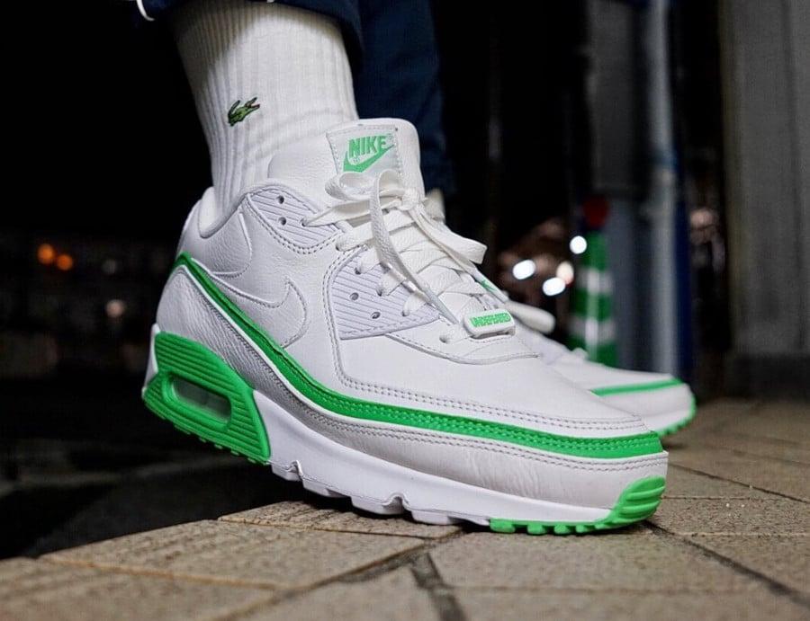 Nike Air Max 90 White Green Spark CJ7197-104