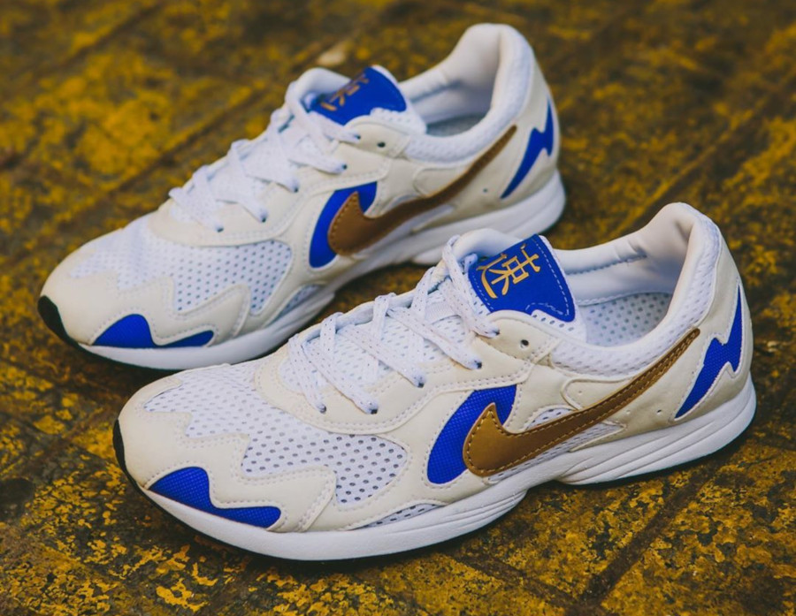 Nike Air Streak Lite OG 'Summit White Metallic Gold' (1)