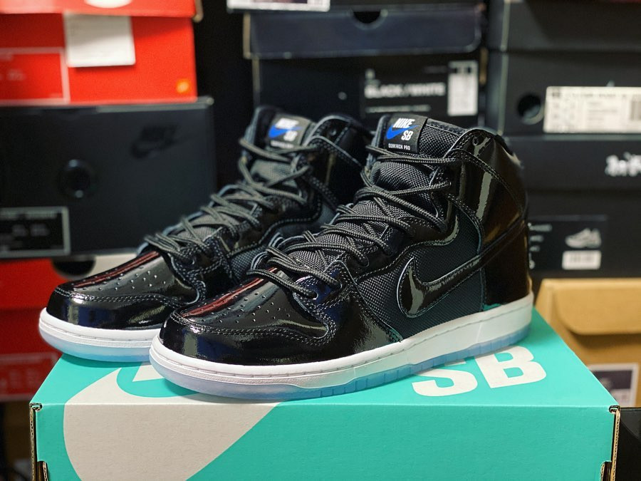 Nike Dunk High Pro 'SB Space Jam' (Black Varsity Royal) (2)