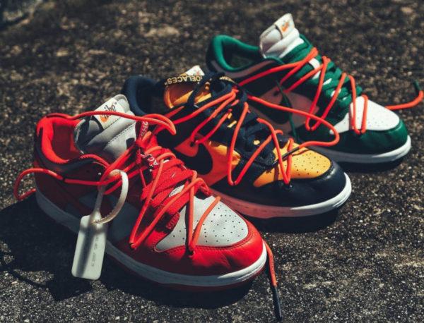 La collaboration Nike Off White 2020 : toutes les sorties à